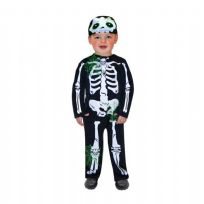 Child's Skeleton Fancy Dress Costume - 1 - 2 Years